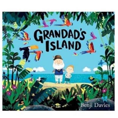Grandad s Island 爺爺的小島精裝繪本(美國版)