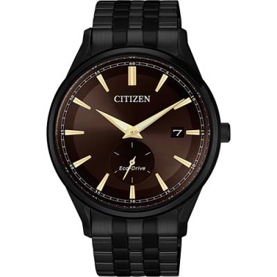 CITIZEN 星辰 光動能父親節廣告款小秒針手錶-40mm(BV1115-82X)