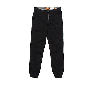 Timberland 男款黑色SLS Waukwevan慢跑褲|A1MC8001
