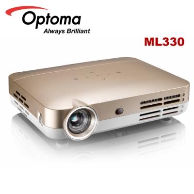 Optoma ML330 500流明 高清微型智慧LED投影機 金 公司貨