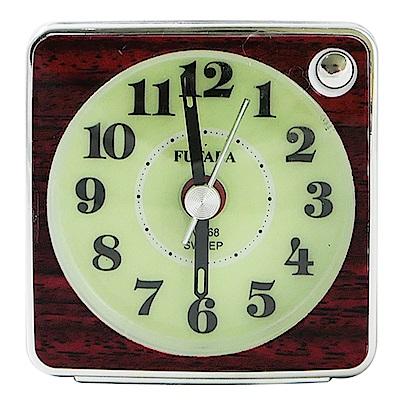 超級夜光BiBi超靜音貪睡鬧鐘 W-768(4色)