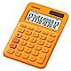 CASIO 12位元甜美馬卡龍色系攜帶型計算機(MS-20UC-RG)柳橙橘 product thumbnail 1