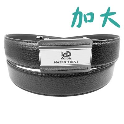 CH-BELT特加大尺碼XXL休閒自動扣皮帶腰帶(黑)