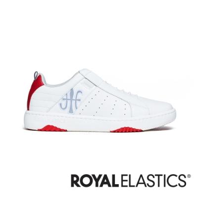 ROYAL ELASTICS ICON2.0 白紅真皮潮流運動休閒鞋 (男) 06502-018