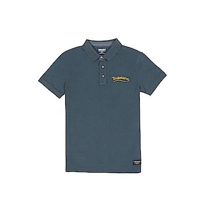 Timberland 男款星空藍短袖POLO衫  | A1USGH12