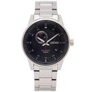 SEIKO 時尚款極速款的機械手錶(SSA381K1)-灰面x銀色/42mm