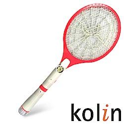 《KOLIN歌林》 三層/充電式/手電筒電蚊拍 KEM-123