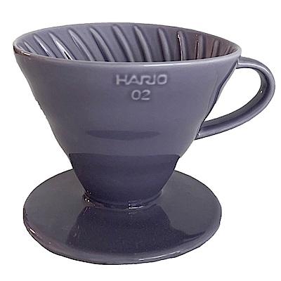 HARIO V60神秘紫02彩虹磁石濾杯 VDC-02-PU-TW
