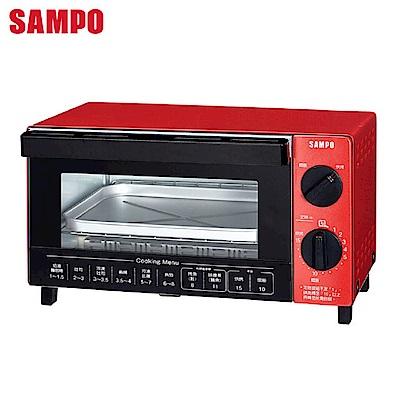 SAMPO 聲寶 10L多功能烘培箱 KZ-SA10