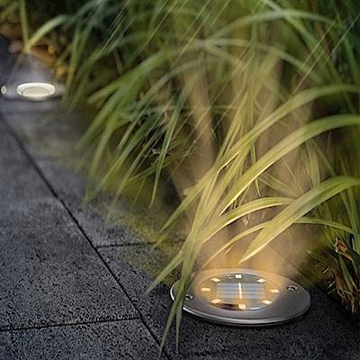 lemonsolo 8LED戶外太陽能插地草坪燈