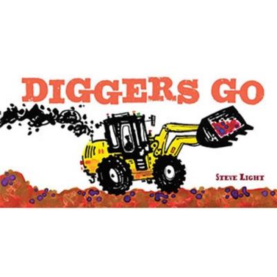 Diggers Go! 大型挖掘車進來囉!