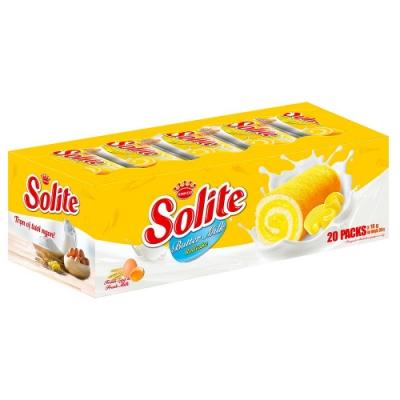 Solite 奶油瑞士捲360g (18g*20入)