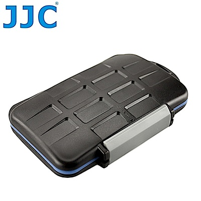 JJC記憶卡儲存盒適SD.Micro SD.CF.XD.MSPD共12張卡,MC-5