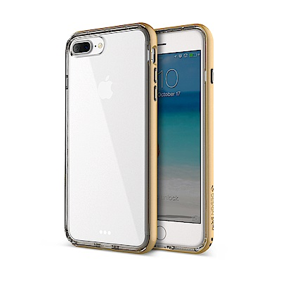 DesignSkin iPhone 7 Plus 雙層防摔邊框透明手機殼