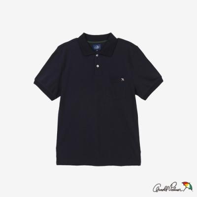 Arnold Palmer -男裝-經典小傘POLO衫-藍色