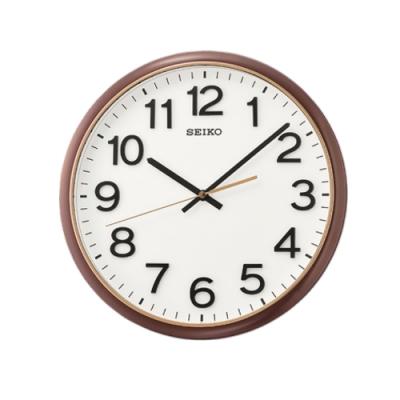 SEIKO 日本精工 掛鐘 滑動式秒針 時鐘(QXA750B)31cm