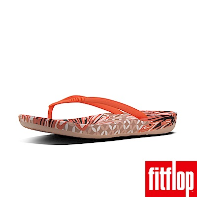 FitFlop IQUSHION FLIP FLOPS DAISY-PRINT-橘