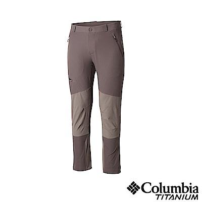 Columbia 哥倫比亞 男款-鈦UPF50防潑長褲-灰色 UAE06870GY
