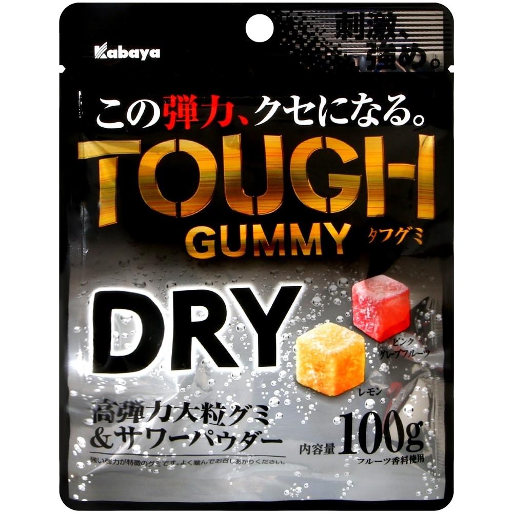 Kabaya TOUGH果乾風味軟糖(100g)