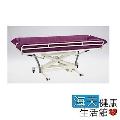海夫 晉宇 輕便鋁合金 傾斜 高度可調 安全扶手 洗澡床