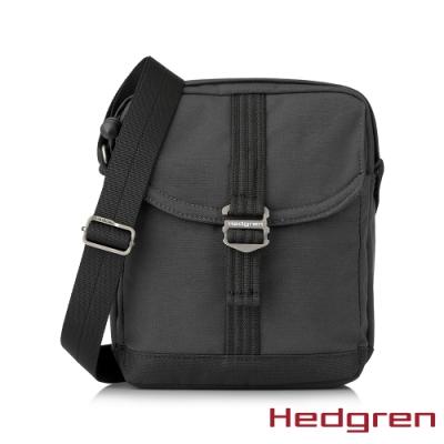 【Hedgren】GREAT綠色循環 RFID側背方包-灰黑