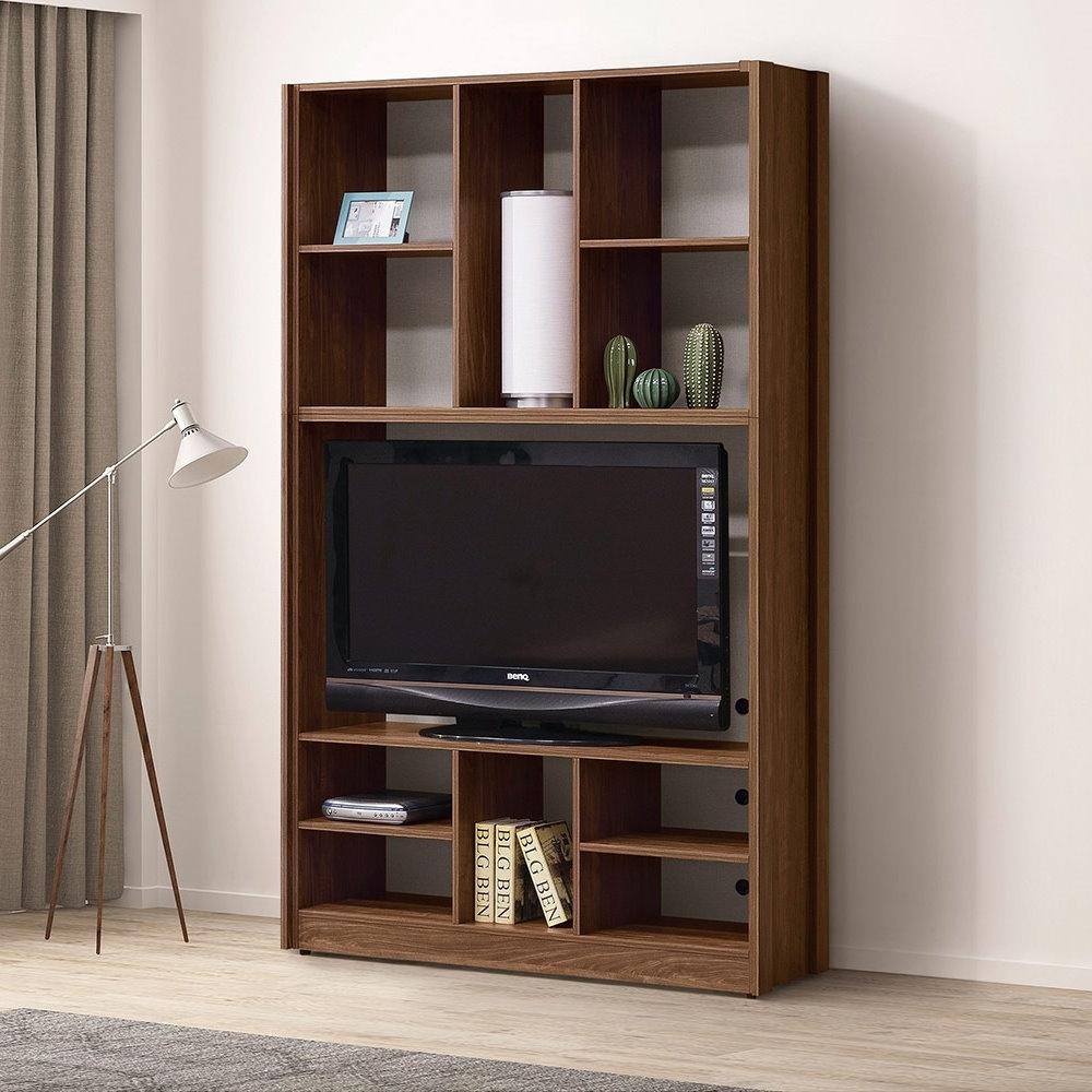 MUNA 古拉爵3.9尺收納電視櫃/書櫃 118.2X40X197cm