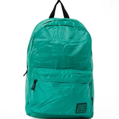 VISION STREET WEAR 潮牌時尚多色運動休閒雙肩後背包 綠 VB2031G