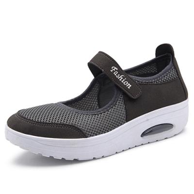 韓國KW美鞋館-簡約休閒舒適健步鞋-灰色