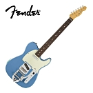 Fender MIJ Trad. 60S Tele Bigsby RW CBL 電吉他藍色