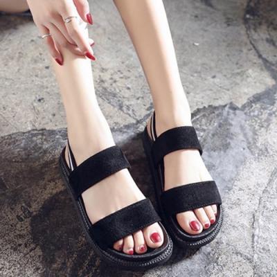 KEITH-WILL時尚鞋館 獨家價雙色時尚運動涼鞋-黑