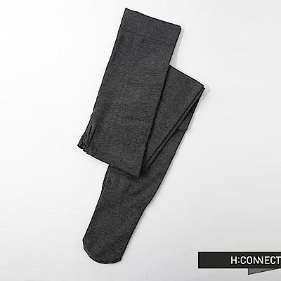 H:CONNECT 韓國品牌 純色彈性褲襪-灰(快)