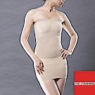 內搭無痕平腹提臀平口抹胸塑身衣180D 膚色 EROSBODY艾若斯健美