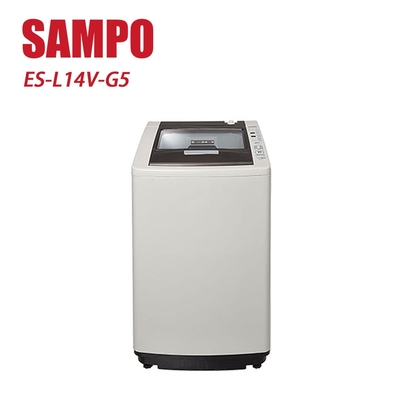 SAMPO 聲寶 14Kg直立式定頻洗衣機 ES-L14V-G5 -含基本安裝+舊機回收