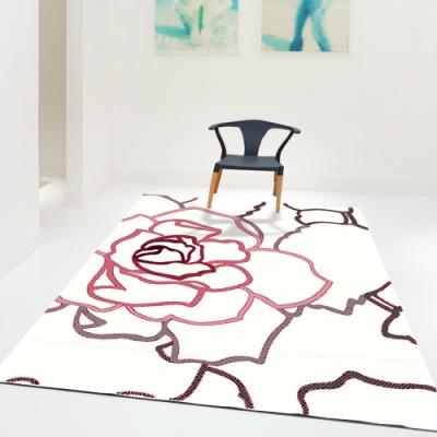 范登伯格 - 荷莉 進口地毯 - 瑰蔓 (紅) (中款 - 140 x 200cm)