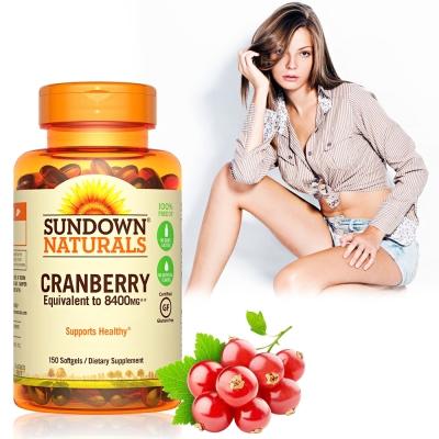 Sundown日落恩賜 超級蔓越莓plus維生素D3軟膠囊(150粒/瓶)