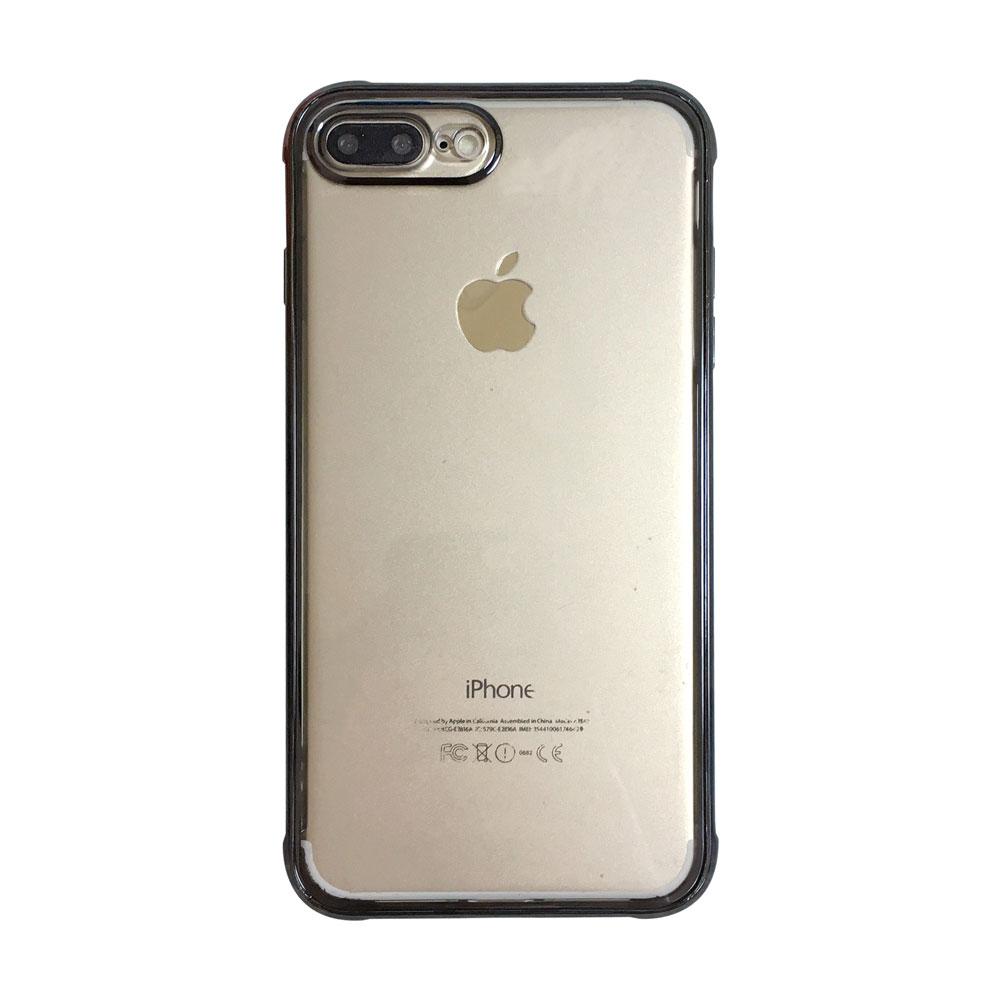 【TOYSELECT】iPhone 7/8 Plus 奢華電鍍光轉聲防摔手機殼