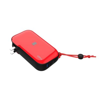 IDMIX MR CHARGER 10000 (CH06) 能充筆電的行動電源 日光紅