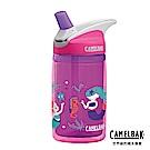 【美國 CamelBak】400ml eddy 兒童吸管雙層隔溫運動水瓶 海洋公主