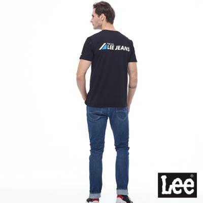 Lee 短T Lee Jeans背部印刷側面小LOGO 男