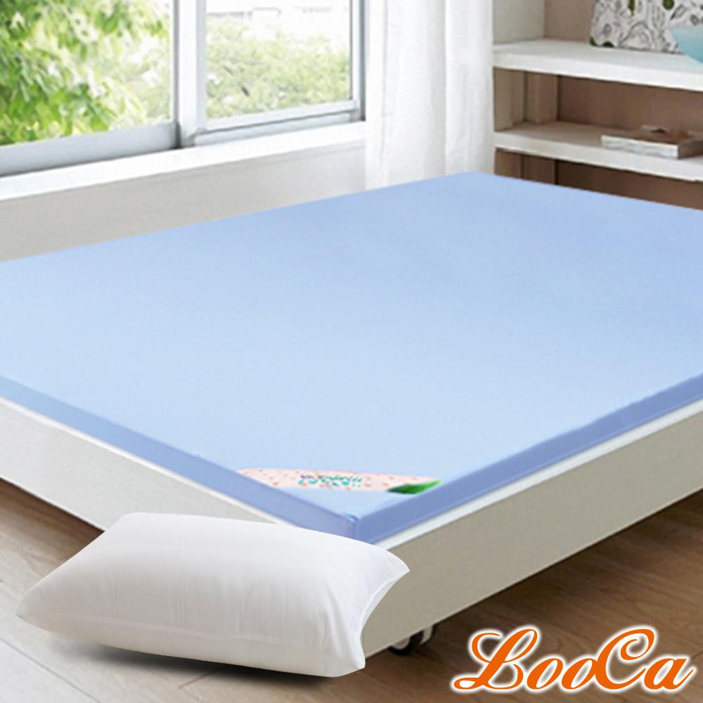 (開學組)LooCa 美國抗菌七段式無重力紓壓乳膠床墊-雙人5尺