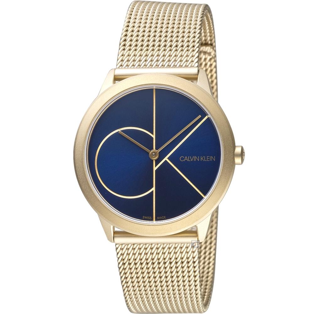 Calvin-Klein-minimal-大ck簡約時尚腕錶-K3M5255N-35mm