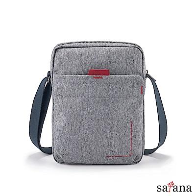 satana - Fresh 輕職人行動側背包 - 麻花灰