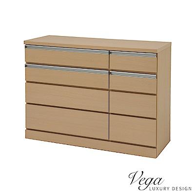 Vega 希拉蕊八斗櫃/八抽櫃/衣物櫃(2色)