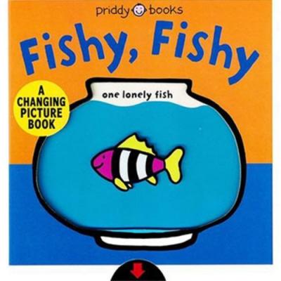 Fishy,Fishy 動物變色操作書(美國版)