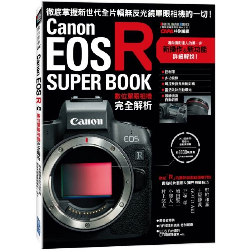 Canon EOS R數位單眼相機完全解析 product image 1