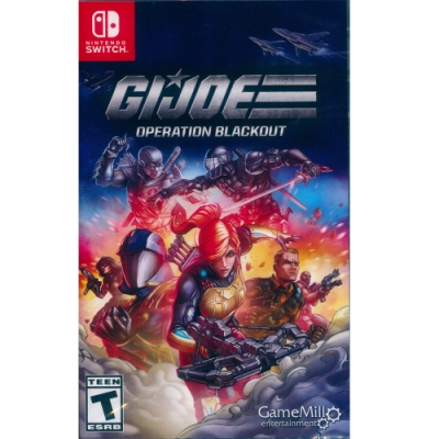 特種部隊 封鎖行動 Gi Joe Operation Blackout - NS Switch 英文美版