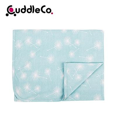 英國CuddleCo 竹纖維寶寶四季毯90x70cm-薄荷點點