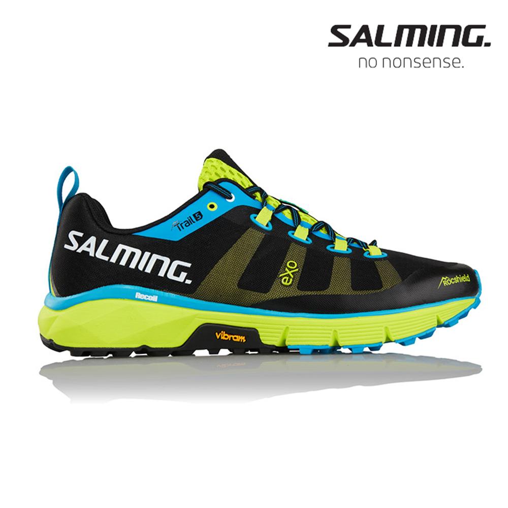 Salming TRAIL 5 男全地形野跑鞋 藍