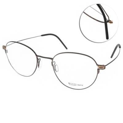 VYCOZ眼鏡 輕量簡約圓框款 /棕 #NATO BRN