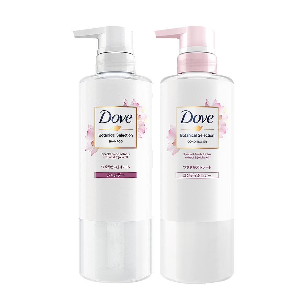 多芬 日本原裝植萃洗護髮2件組